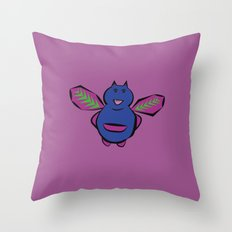 Cute Monster Throw Pillow