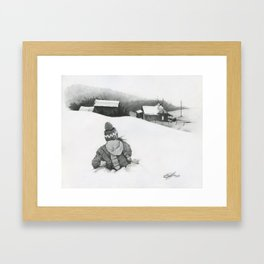 Suppertime Framed Art Print