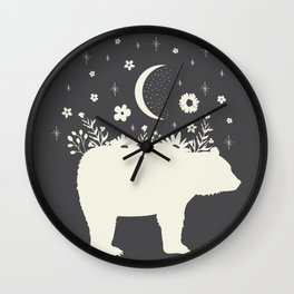 Medicine Bear Wall Clock