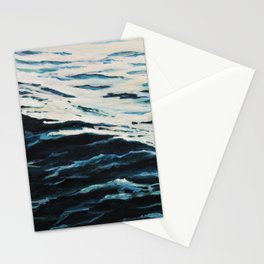 Sea calmness Stationery Cards