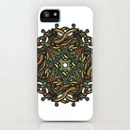 Eye Mandala iPhone Case