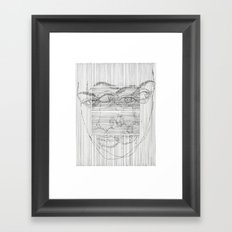 can't you see Framed Art Print