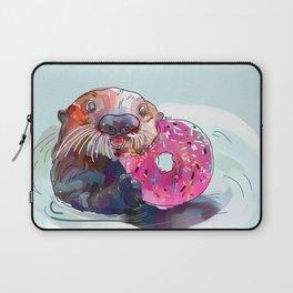 Otter Donut Laptop Sleeve