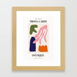 Find Art Everywhere Framed Art Print