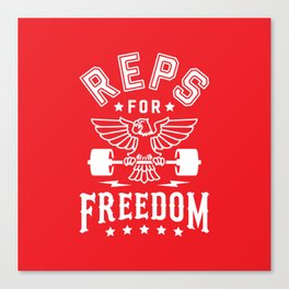Reps For Freedom v2 Canvas Print