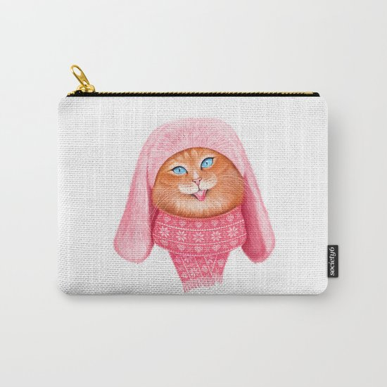 Cat meow Carry-All Pouch