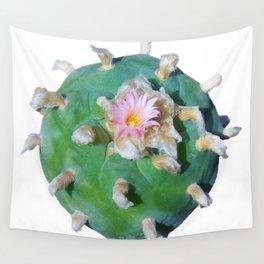 "Lophophora ""Peyote"" Williamsii Entheogen Wall Tapestry"