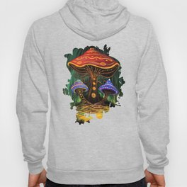 A Mushroom World Hoody