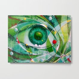 The Green Man Metal Print