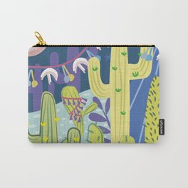 Cactus Nightlife Carry-All Pouch