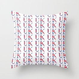 UK 3- London,united kingdom,england,english,british,great britain,Glasgow,scotland,wales Throw Pillow