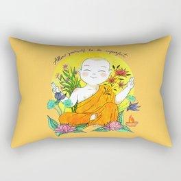 The Buddhist Monk Rectangular Pillow