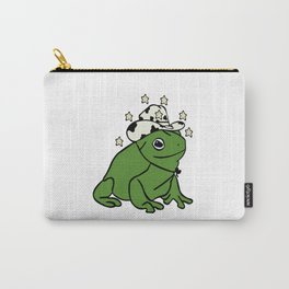 Frog with a cowboy hat Carry-All Pouch