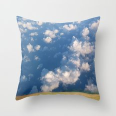 How Now Brown Cow #1 - What's that man doing in my field? Throw Pillow
