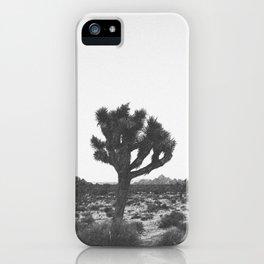JOSHUA TREE / California iPhone Case