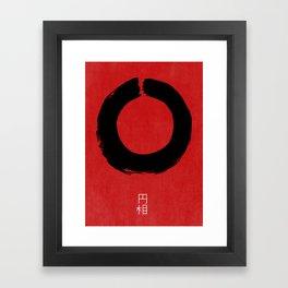 ENSO IN JAPAN Framed Art Print