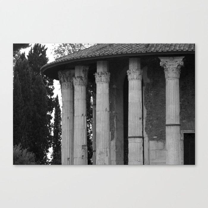 Italy Print Of Annaki Vesta Rome By Temple Canvas eBCodx