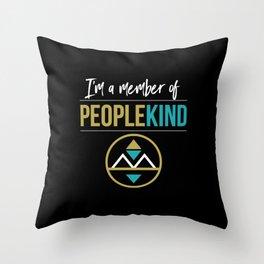 PeopleKind Throw Pillow