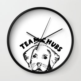 team chubs Wall Clock