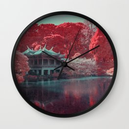 Infrapink 06 Wall Clock