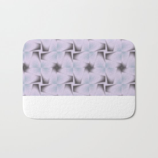 Origami Tiles Fractal in TPGY Bath Mat