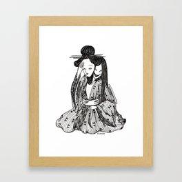 ''gueisha'' Framed Art Print