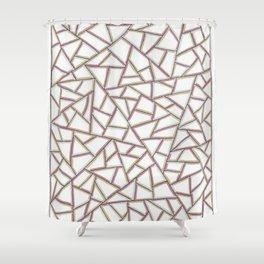 Gridlock One Shower Curtain