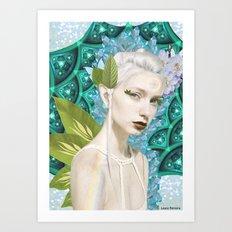 Fairy trip Art Print