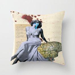 Rumbo a peor Throw Pillow