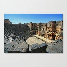 The Hidden Theatre   Canvas Print