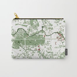 Berlin city map minimal Carry-All Pouch