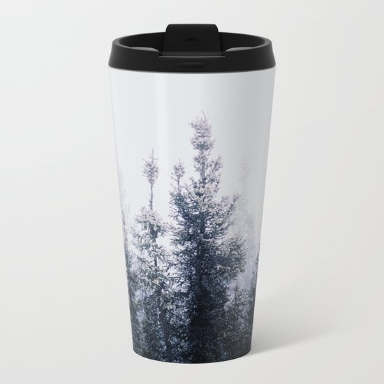 Waste a moment in the forest Metal Travel Mug