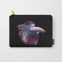 Betta fish art print Carry-All Pouch