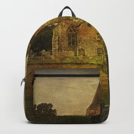 St Clement's Old Romney From The East Backpack