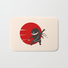 LITTLE NINJA STAR Bath Mat