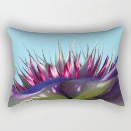 Arboretum Clematis Rectangular Pillow