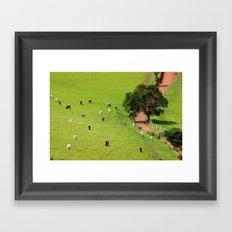 their path Framed Art Print