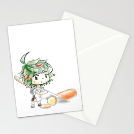 Chibi Salad Personified Stationery Cards