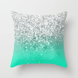 Glitteresques XXXV Throw Pillow