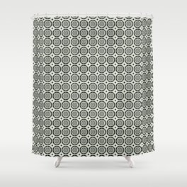 Marble Pattern Shower Curtain
