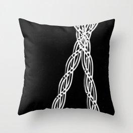 Criss Cross #1 Throw Pillow