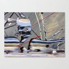 Gather Your Shoes - Close-up #2 Canvas Print