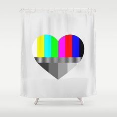 A Test of Love Shower Curtain