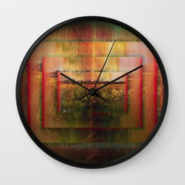 The Surface of Solitude-Infinity Wall Clock