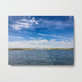 Fort Peck Spillway, Fort Peck Lake, Montana Metal Print