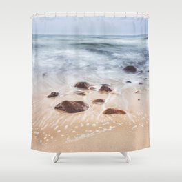 By the Shore - Landscape and Nature Photography Shower Curtain