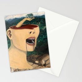 """Ascending Into Consciousness""  Stationery Cards"
