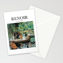 Renoir - La Grenouillère Stationery Cards