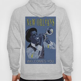 New Orleans welcomes you Hoody