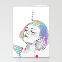 pony Stationery Cards featuring PONY by OrangeBeard
